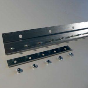 Befestigungsschiene STD Stahl Galvanisiert Wandbefestigung 1 m
