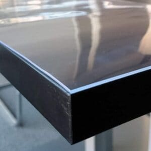 Durchsichtige Transparente PVC Tischdecke nach Maß 2mm dick