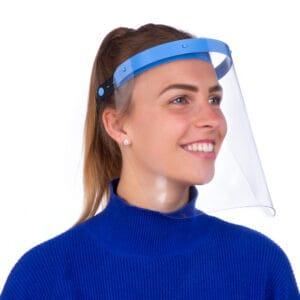 Gesichtsschutzmaske Vista Protector Schutzmaske Visier Face Shield Blau