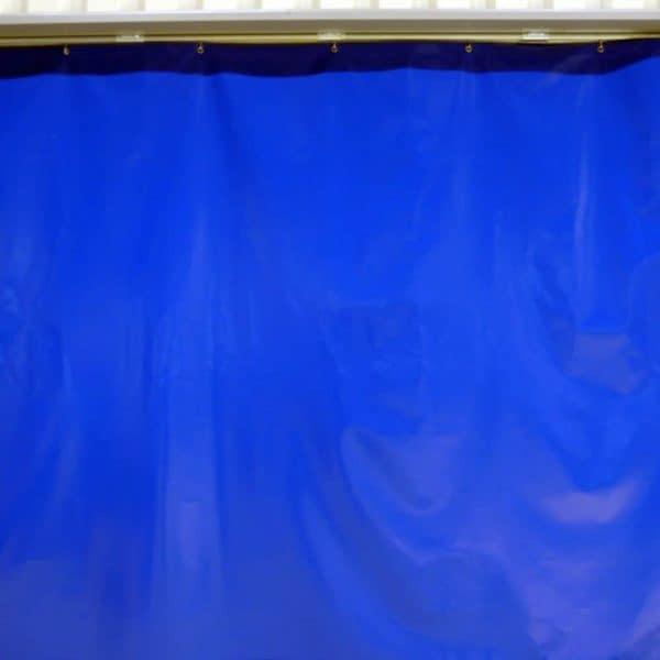 Industrievorhang Blau