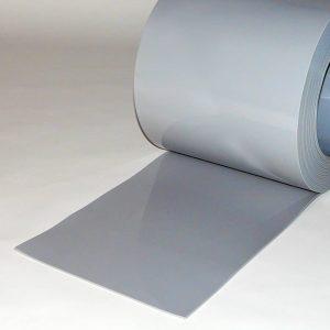 PVC Streifen Meterware Grau 300 mm x 3 mm