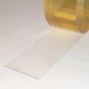 PVC Streifen Meterware Helltransparent 200 mm x 2 mm