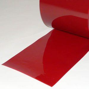 PVC Streifen Meterware Schweisserschutz Rot 300 mm x 2 mm
