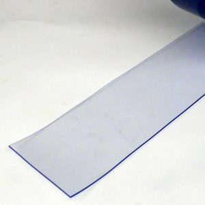 PVC Streifen Meterware Transparent 100 mm x 2 mm