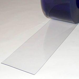 PVC Streifen Meterware Transparent 200 mm x 2 mm