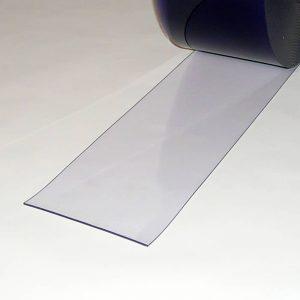 PVC Streifen Meterware Transparent 200 mm x 3 mm