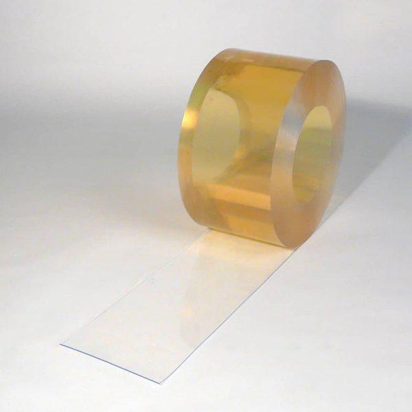 PVC Streifen Rollenware Helltransparent 50 m x 200 mm x 2 mm