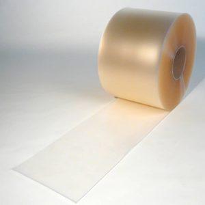 PVC Streifen Rollenware Mattiert Transparent 50 m x 300 mm x 3 mm