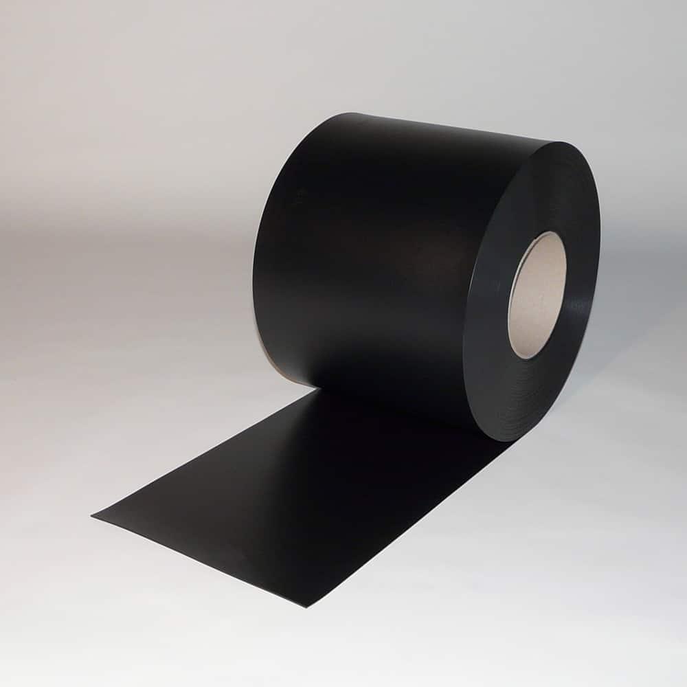 pvc streifen rollenware schweisserschutz dunkelgr n 50m x 300 x 2mm. Black Bedroom Furniture Sets. Home Design Ideas