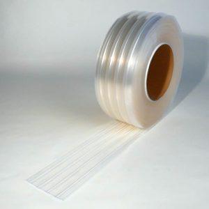Mehr über PVC Streifen Rollenware Tiefkühlzelle Gerippt 50 m x 200 mm x 2 mm