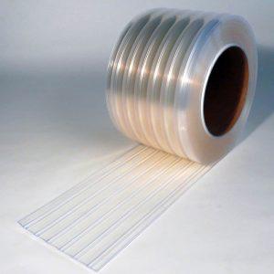 Mehr über PVC Streifen Rollenware Tiefkülung Gerippt 50 m x 300 mm x 3 mm