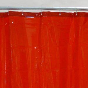 Schweisserschutzvorhang Rot 130 cm 220 cm