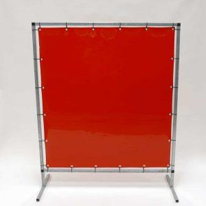 Schweisserschutzwand Folie Rot 140 cm 180 cm
