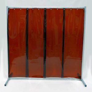 Schweisserschutzwand-Lamel 570 Bronze 210 cm 200 cm