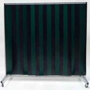 Schweisserschutzwand Lamellen Grün 210 cm 200 cm