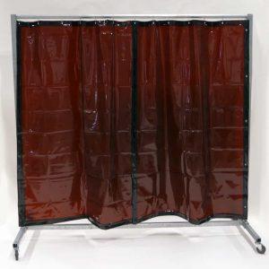 Schweisserschutzwand Vorhang Bronze 210 cm 200 cm