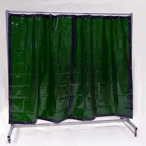 Mehr über Schweisserschutzwand Vorhang Grün 210 cm 200 cm