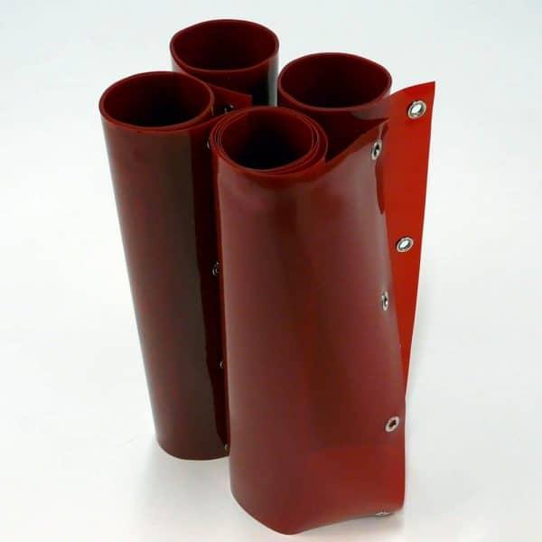 Mehr über Schweisslamellen Rot 200 cm 180 cm