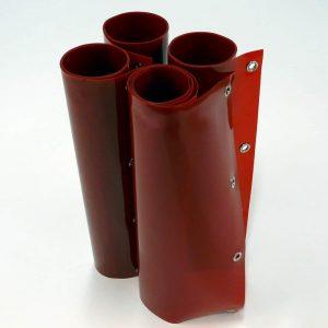 Mehr über Schweisslamellen Rot 200 cm 200 cm