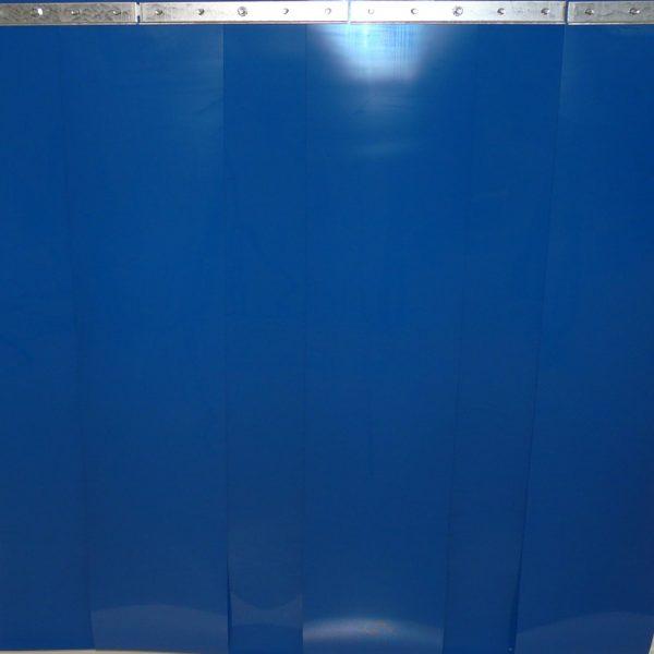 Streifenvorhang Blau nach Maß