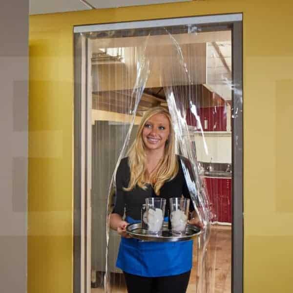 Streifenvorhang Kühlhaus Kühlzelle Kühlraum