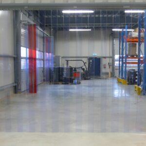 Streifenvorhang PVC Transparent