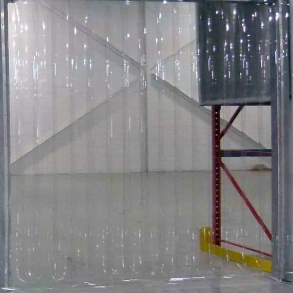 Streifenvorhang Tiefkühlzelle nach Maß