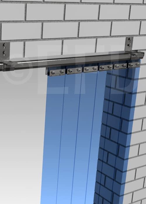 Streifenvorhang Verschiebbar Wand