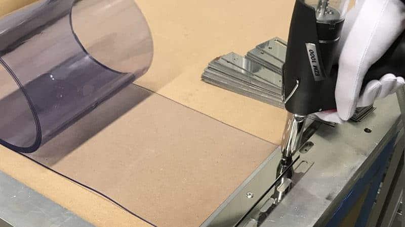 Schnell und einfach Weich PVC Vorhang Streifen ersetzen?